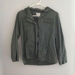 Kids Army Green Jacket